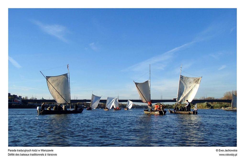 Rok Wisły, Parada tradycyjnych łodzi w Warszawie / fot. Ewa Jachowska, mat. promocyjne