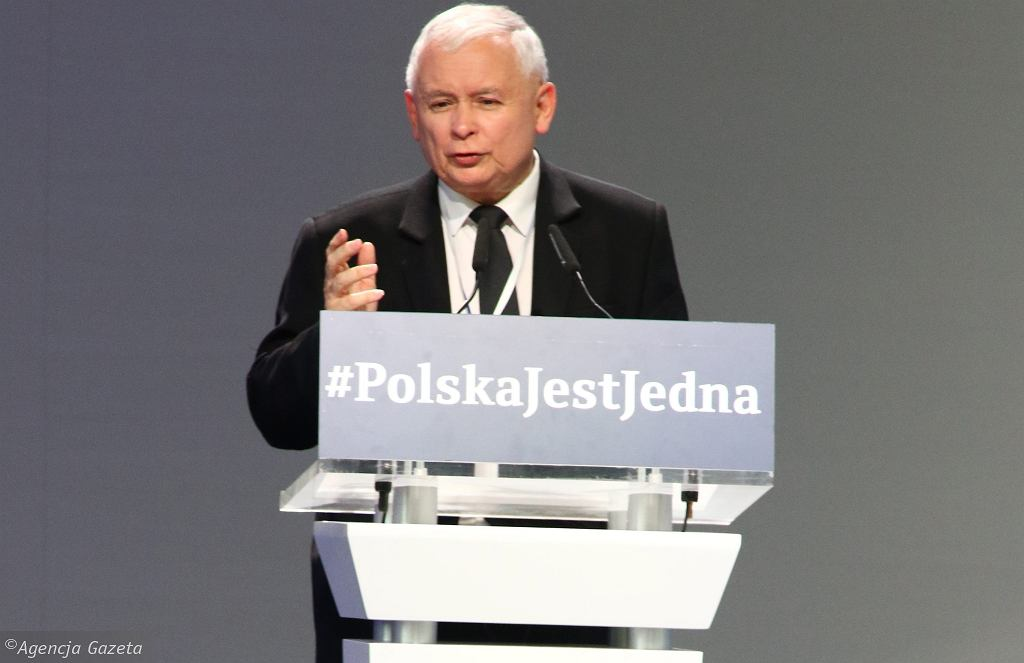 Kongres PiS, Jarosław Kaczyński