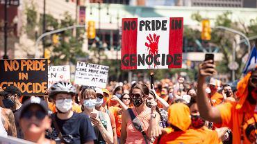Kanada. Protest z 1 lipca
