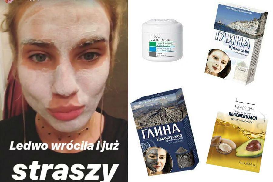 regenerujące maseczki do twarzy