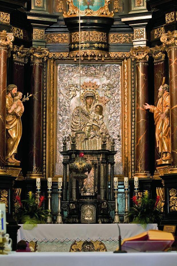 Wnętrze sanktuarium Święta Lipka / fot.  Tomasz Fedor