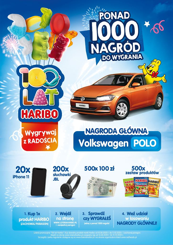 100 lat HARIBO - trwa wielka jubileuszowa loteria!