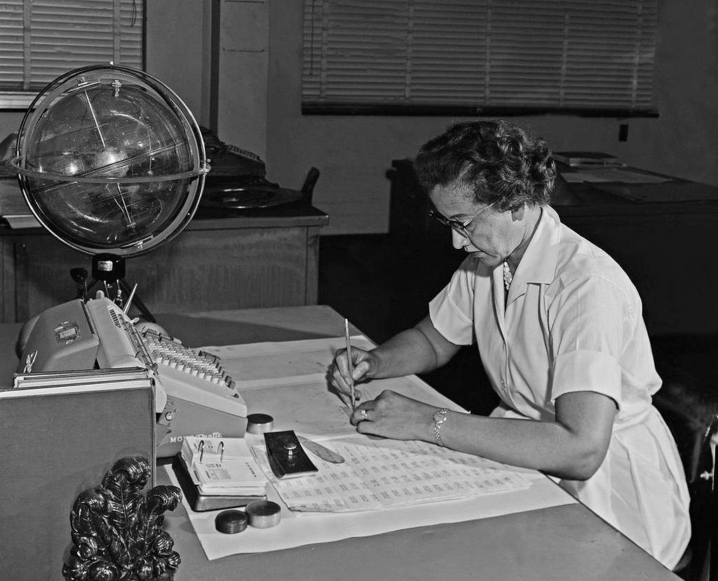 Katherine Johnson pracowała dla NASA przed ponad 30 lat