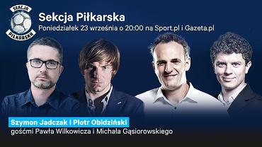 Szymon Jadczak i Piotr Obidziński gośćmi Sekcji Piłkarskiej