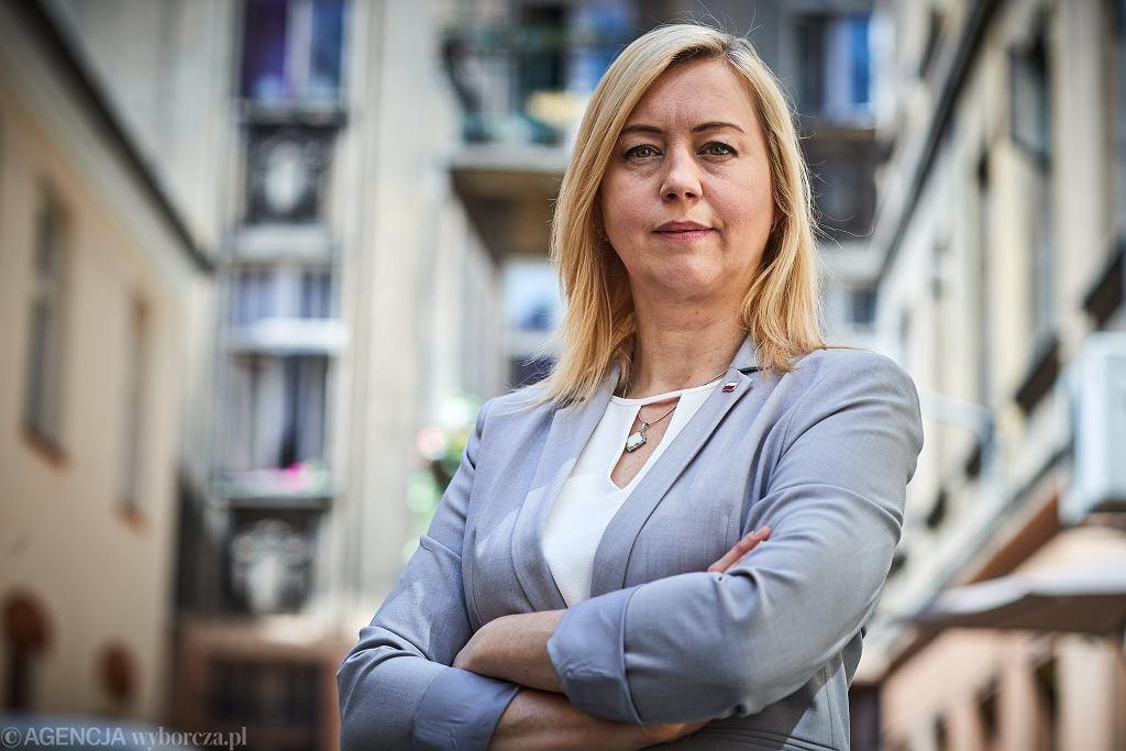 Hanna Gill-Piątek reprezentuje w Sejmie Polskę 2050, ugrupowanie Szymona Hołowni