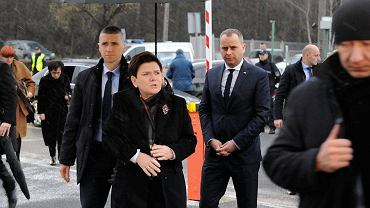 Przyjazd premier Beaty Szydło do kopalni Rudna