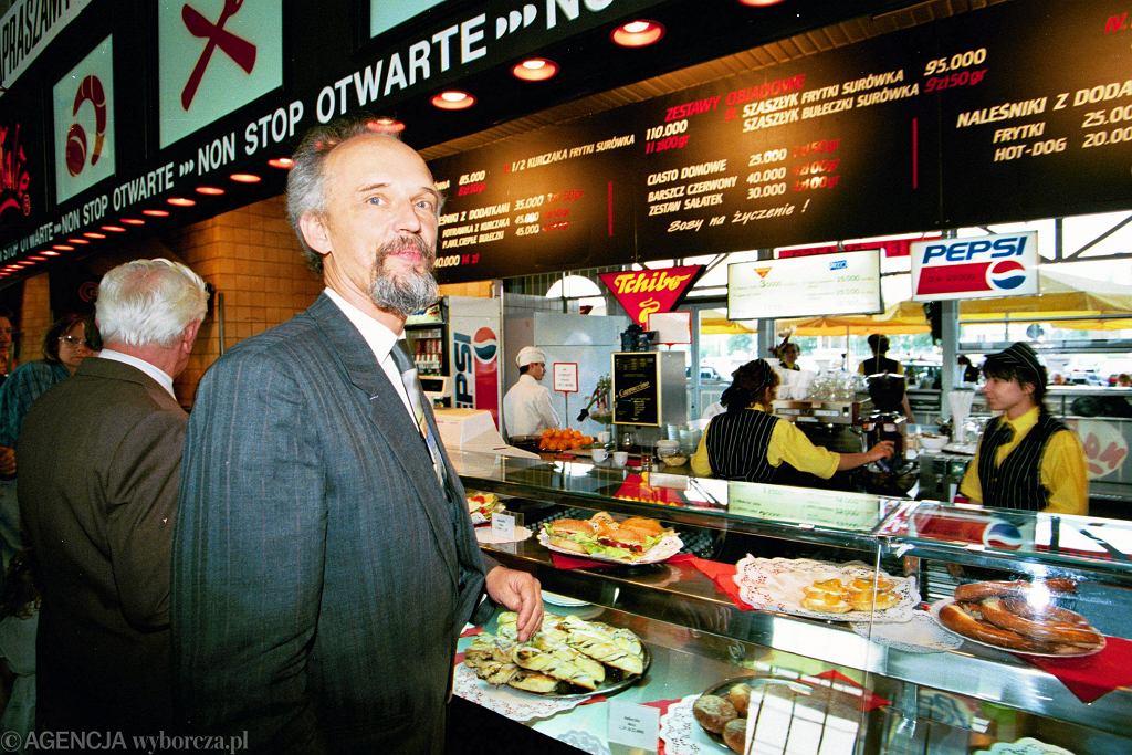 Janusz Korwin-Mikke w 1995 roku.