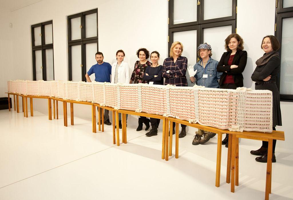 Prace Julity Wójcik, wystawa / materiały prasowe