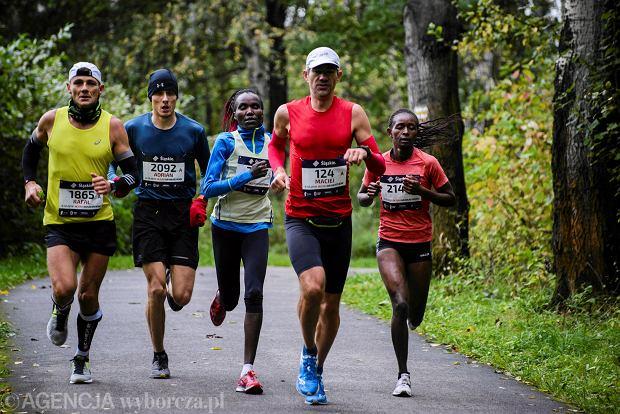 Zdjęcie numer 37 w galerii - Silesia Marathon. Chłód i wiatr niestraszne, rekord pobity! [ZDJĘCIA]