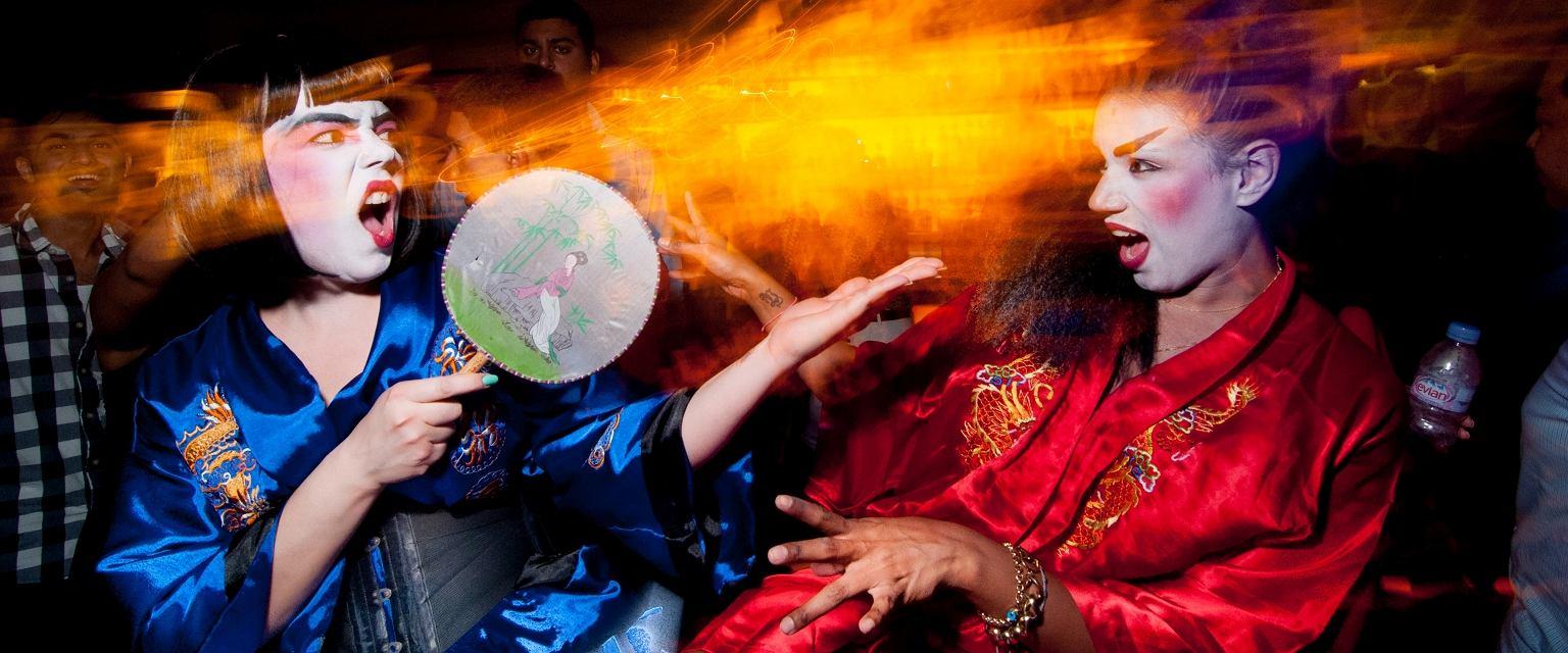 Impreza w klubie Cielo, Nowy Jork (fot. Filip Wolak)