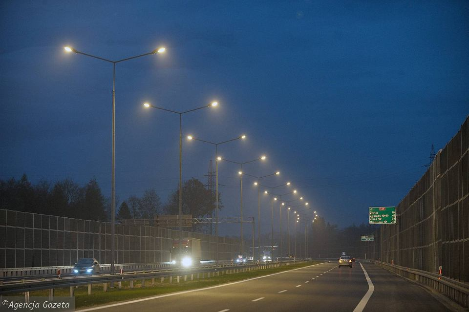 Odcinek drogi S1 z bielskich Mikuszowic do węzła Buczkowice