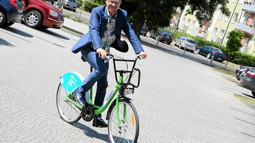 Prezentacja roweru miejskiego