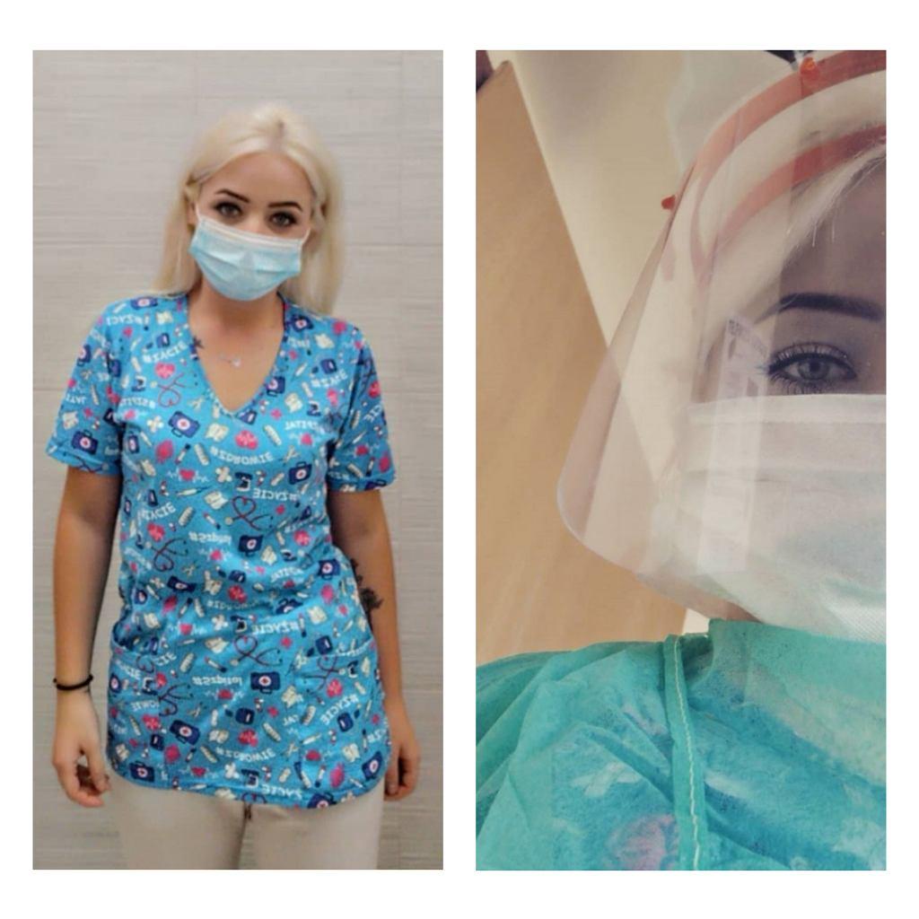 Strój opiekuna medycznego - przed i w trakcie epidemii koronawirusa