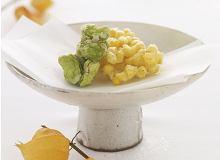 Kakiage z kukurydzy i bobu - ugotuj
