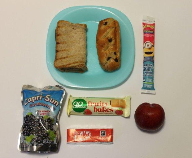 Co rodzice dają dzieciom do jedzenia do szkoły?