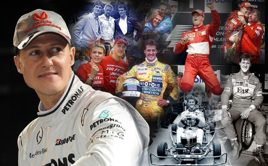 Michael Schumacher skończył w czwartek 50 lat