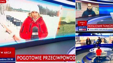 Jarosław Olechowski o podobieństwie sposobu kadrowania w TVP Info i TVN