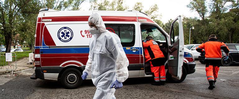 Zakażonego koronawirusem pacjenta szpital wysłał do domu taksówką
