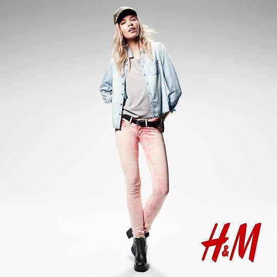 082d90c1 H&M Divided - wiosenne stylizacje