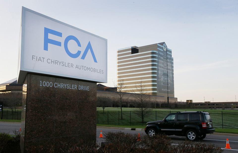 Główna siedziba Fiat Chrysler Automobiles w Auburn Hills w stanie Michigan.