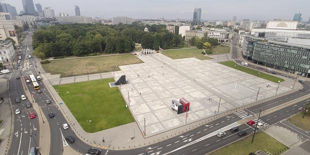 Plac Piłsudskiego obecnie
