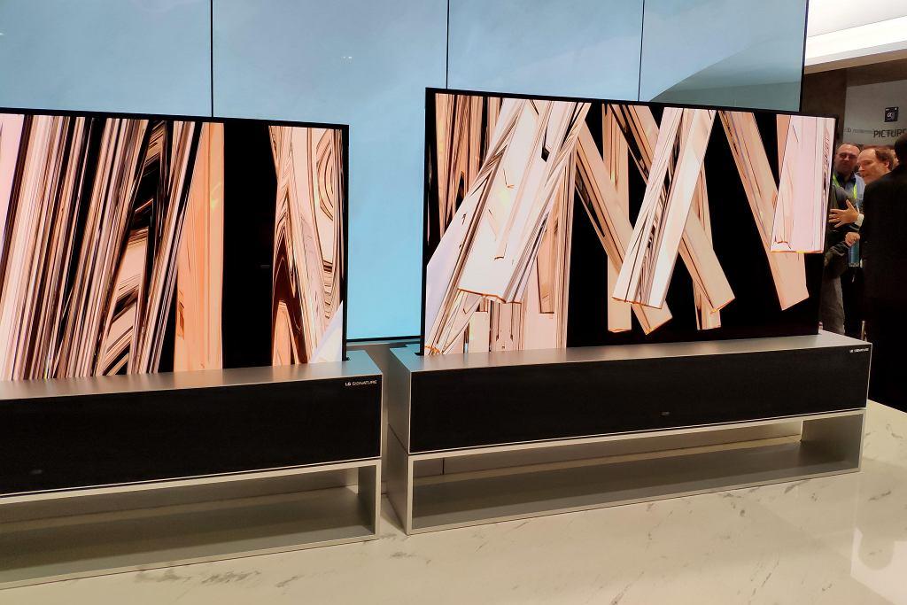 LG SIGNATURE OLED TV R na CES 2019