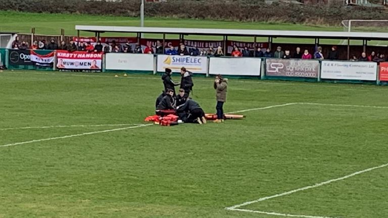 Groźna sytuacja podczas meczu ligi angielskiej kobiet