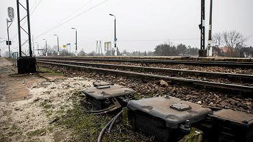 Stacja kolejowa PKP - zdjęcie ilustracyjne