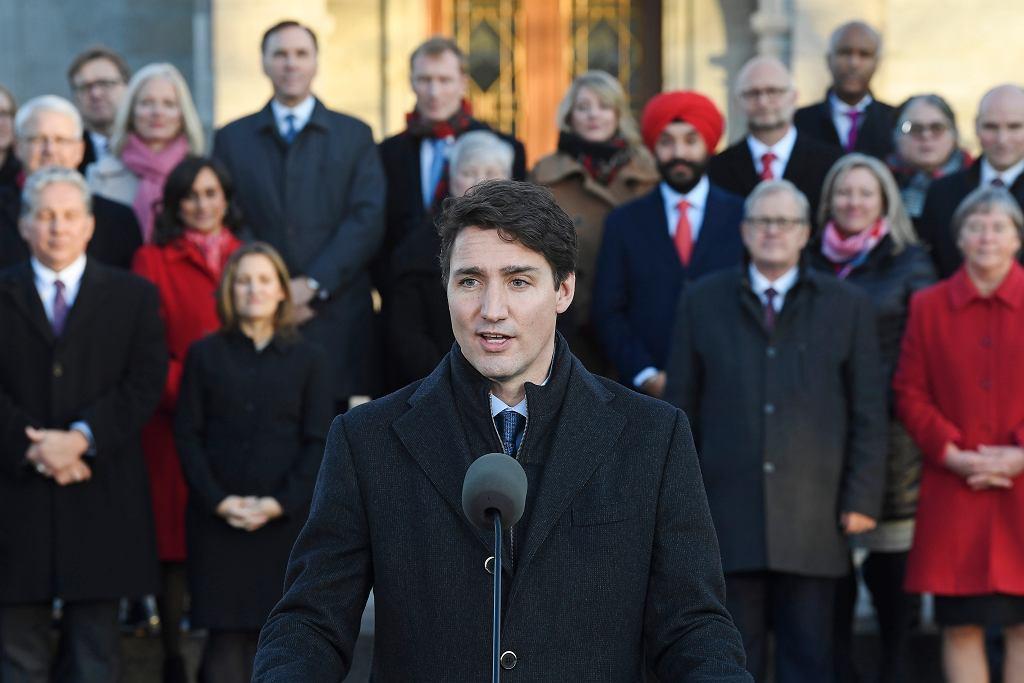 Nowy rząd Kanady