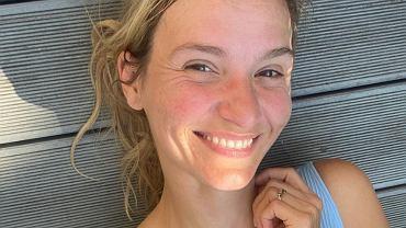 Joanna Koroniewska bez makijażu