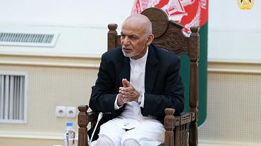 Były prezydent Afganistanu Ashraf Ghani