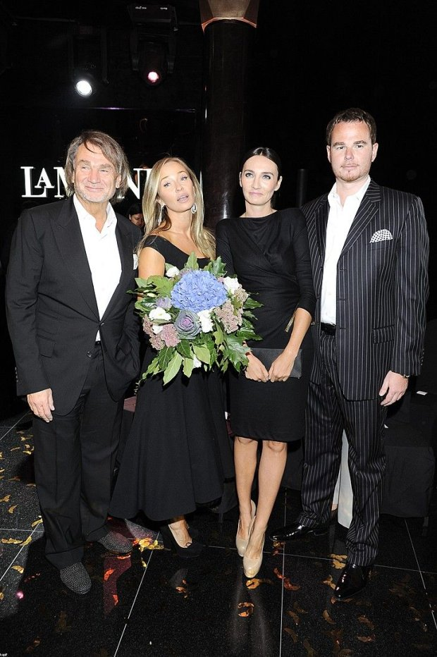 Jan Kulczyk, Joanna Przetakiewicz, Dominika Kulczyk, Jan Lubomirski