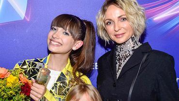 Ania Wyszkoni z córką i Viki Gabor