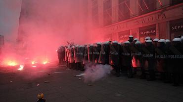 Dziennikarze ucierpieli w wyniku działań policji na Marszu Niepodległości