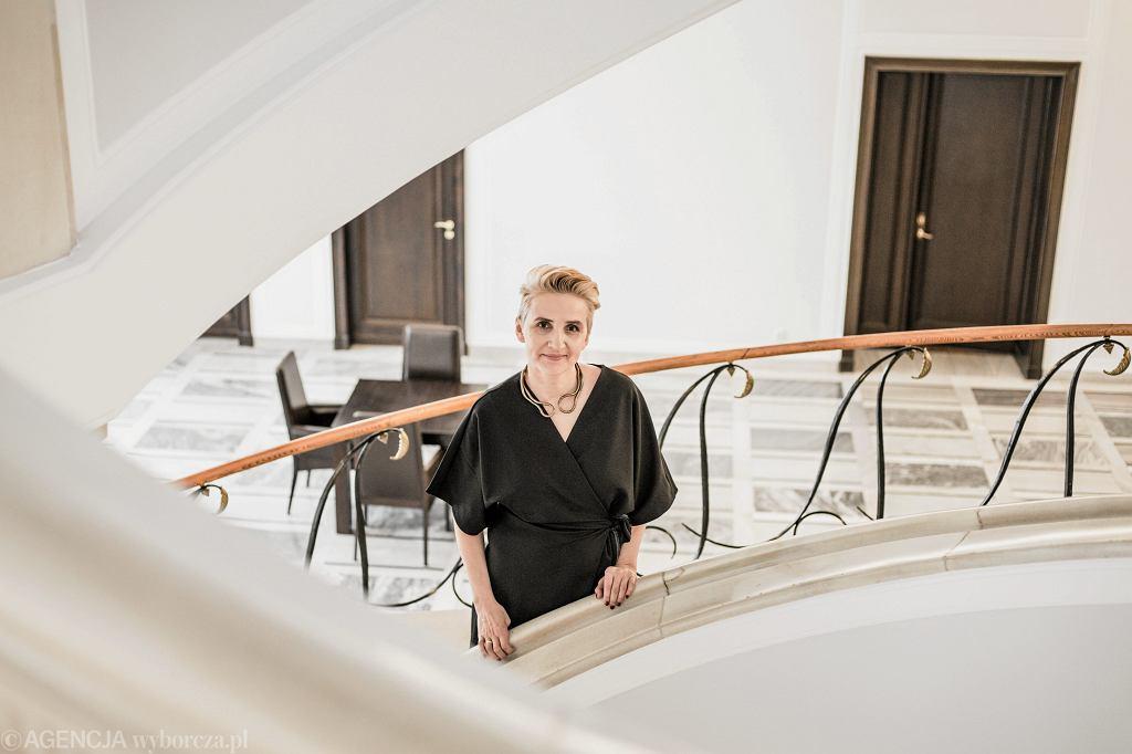Joanna Scheuring-Wielgus. Warszawa, Sejm, 27 lutego 2018