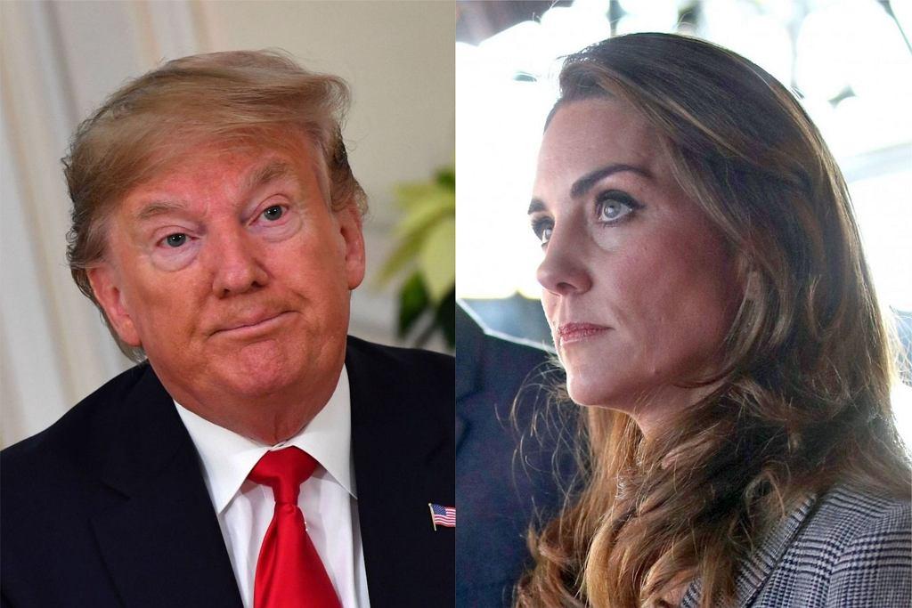 Donald Trump i księżna Kate