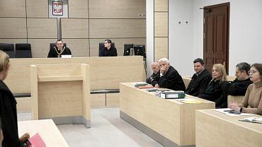 Posiedzenie organizacyjne sądu przed rozpoczęciem procesu w aferze melioracyjnej, w której jednym z oskarżonych jest Stanisław Gawłowski
