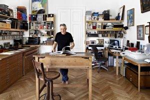 Wnętrza pełne sztuki - z wizytą u Andrzeja Dudzińskiego