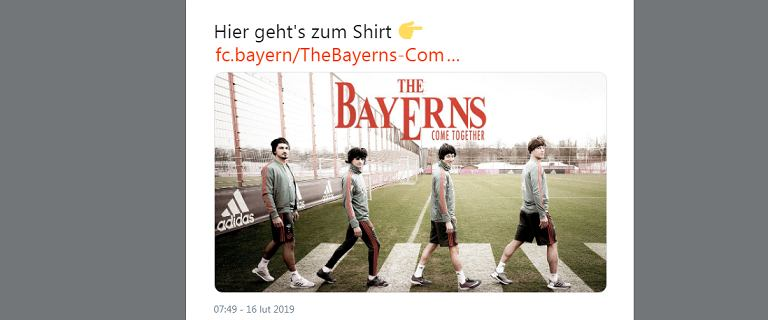 Robert Lewandowski wcielił się w... muzyka The Beatles. Tak Bayern zapowiada mecz z Liverpoolem