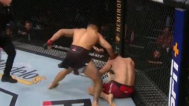 Oskar Piechota przegrał kolejną walkę w UFC