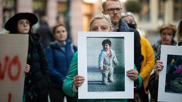 Protest ''Stan wyjątkowo nieludzki'