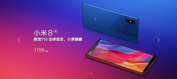 Premiera Xiaomi Mi8, Mi8 SE i Mi8 Explorer Edition