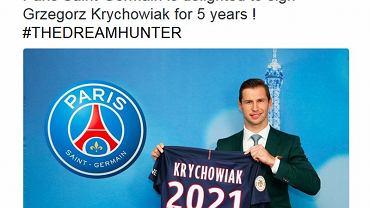 Grzegorz Krychowiak w PSG