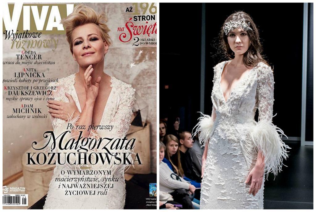 Nowa kolekcja ślubna Paprocki & Brzozowski - na okładce i na wybiegu