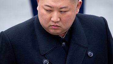 Kim Dzong Un podczas uroczystości we Władywostoku, kwiecień 2019