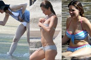 Milla Jovovich, Helena Christensen, Kelly Brook.