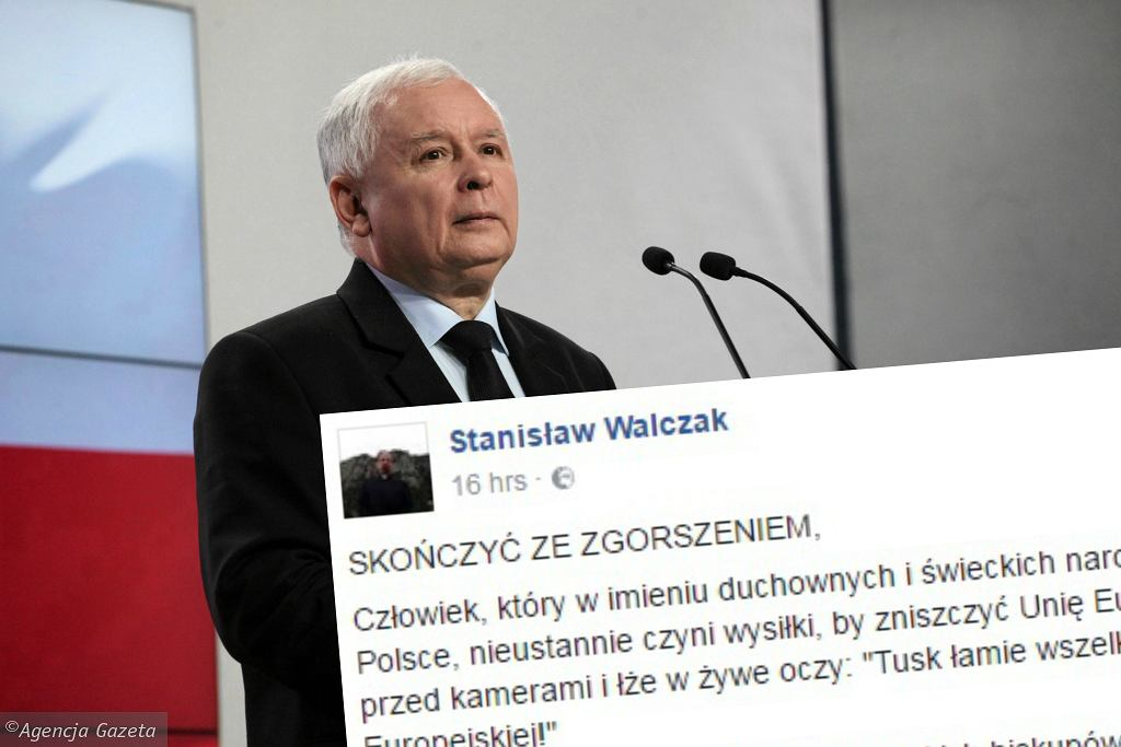 Ksiądz krytykuje Kaczyńskiego na Facebooku