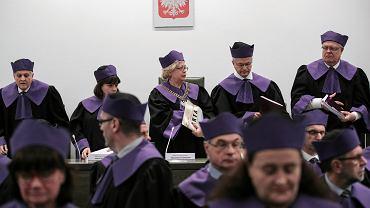 Sąd Najwyższy ogłasza orzeczenie w sprawie sędziów powołanych przez upolitycznioną neo-KRS. Warszawa, 23 stycznia 2020 r.