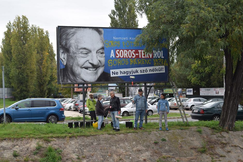 Kampania przeciw George'owi Sorosowi