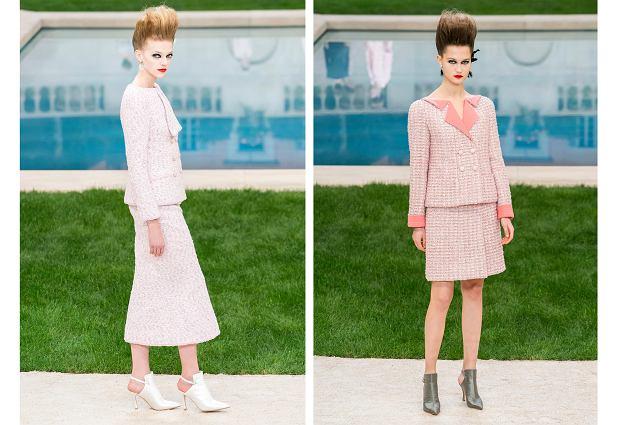 Garsonki z kolekcji Chanel wiosna-lato 2019